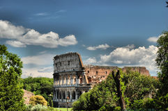 image de hdr de colosseum Photos stock