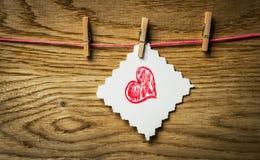 Image de jour de valentines Photo libre de droits