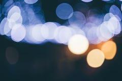 Image de l'éclairage defocused de concert de divertissement sur l'étape photographie stock libre de droits
