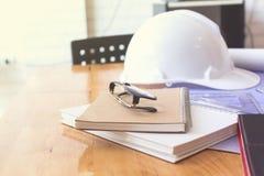 Image de la réunion d'ingénieur pour architectural image stock