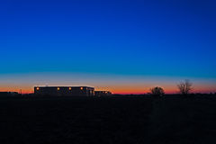Image de lever de soleil Photo stock