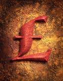 Image de livre sterling de signe Photographie stock