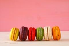Image de macaron ou de macaron coloré Photo libre de droits