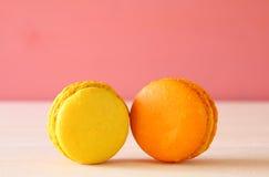 Image de macaron ou de macaron coloré Photos stock