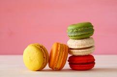 Image de macaron ou de macaron coloré Images libres de droits