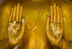 Image de main du pêché d'arrêt de moyens de Bouddha Photos stock