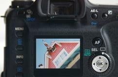 Image de maison de plage Photographie stock