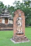 Image de marche de Bouddha Photographie stock