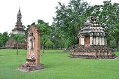Image de marche de Bouddha Photos libres de droits