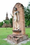 Image de marche de Bouddha Image libre de droits
