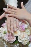 Image de mariage de l'amour éternel Photos libres de droits