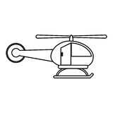 image de mouche de transport d'hélicoptère Images stock