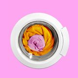 Image de ?onceptual d'une machine à laver Image libre de droits