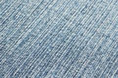 Image de plan rapproché de tissu bleu Images libres de droits