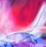 Image de plan rapproché stylisé de la terre illustration stock