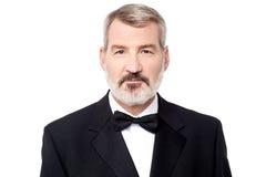 Image de portrait d'homme d'affaires mûr Images stock