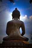 Image de postérieur de Bouddha dans Betong Images libres de droits