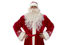 Image de Russe Santa Claus dans le costume rouge Photo stock
