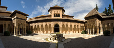 Image de Stiched de patio de lion Photographie stock libre de droits