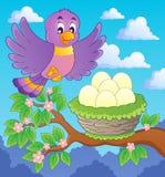 Image de sujet d'oiseau Photo stock