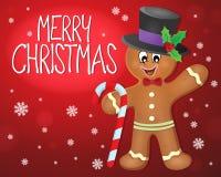 Image 4 de sujet de Joyeux Noël illustration de vecteur