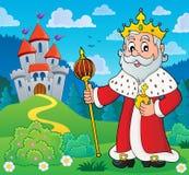 Image 3 de sujet de roi illustration de vecteur