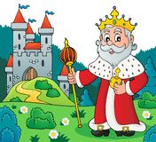 Image 4 de sujet de roi illustration stock