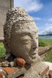 Image de tête de Bouddha Photographie stock libre de droits