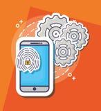 Image de technologie d'innovation illustration libre de droits
