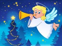 Image 4 de thème d'ange illustration stock