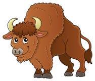 Image 1 de thème de bison illustration libre de droits