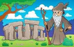 Image 2 de thème de druide Photo stock