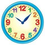 Image 3 de thème d'horloge Image stock