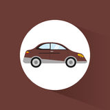 image de véhicule de transport de berline de voiture illustration stock