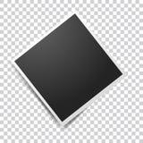 Image de vecteur de cadre réaliste vide de photo Rétros cadres de photo d'icône Rétro cadre de photo de vecteur Couches groupées  illustration de vecteur