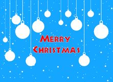 Image de vecteur de carte de voeux et de bonne année de Joyeux Noël illustration de vecteur