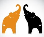 Image de vecteur d'un éléphant illustration de vecteur