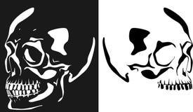 Image de vecteur d'un crâne humain illustration de vecteur