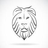 Image de vecteur d'un lion Photos stock