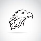 Image de vecteur d'une tête d'aigle Images libres de droits