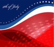 Image de vecteur de drapeau américain Photos stock