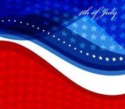 Image de vecteur de drapeau américain Image libre de droits