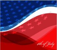 Image de vecteur de drapeau américain Photo libre de droits
