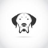 Image de vecteur de tête de chien illustration libre de droits
