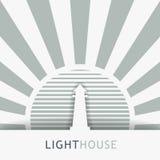 Image de vecteur de tour de phare Image libre de droits