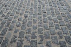Image de vieux plancher en pierre de perspective Photos stock