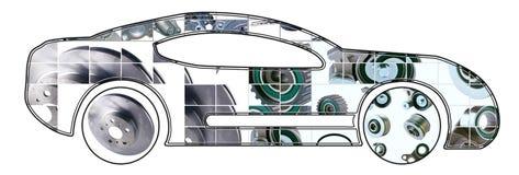 Image de voiture de sport Photographie stock libre de droits