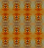 AMBER RADIAL BLUR REPEAT BACKGROUND. Image of a decorative wallpaper composed of a repeat pattern of a amber zoom blur radials royalty free stock photo