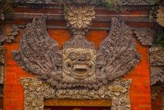 The image of a demon. Ubud, Bali, Indonesia. Royalty Free Stock Image