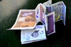 denar macedonian curency , banknote Royalty Free Stock Photos